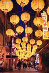 Lantern Street II by WindyLife