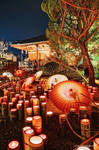 Lantern Fes at Yamaga city