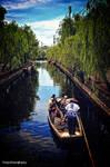 Canal cruising in Yanagawa