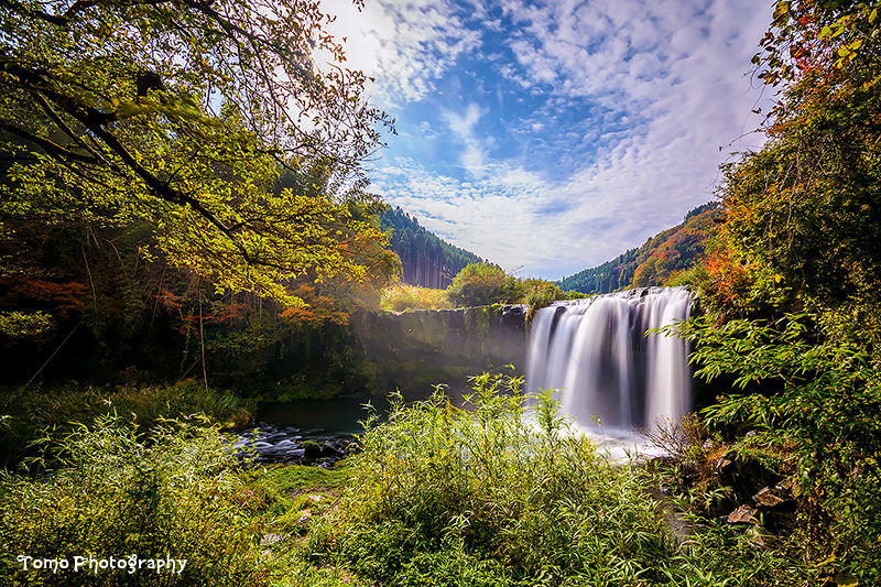 Sendo water fall in ohita  japan  by windylife d8rzgf1