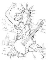 Statue of Liberty of Rock by hanerethund