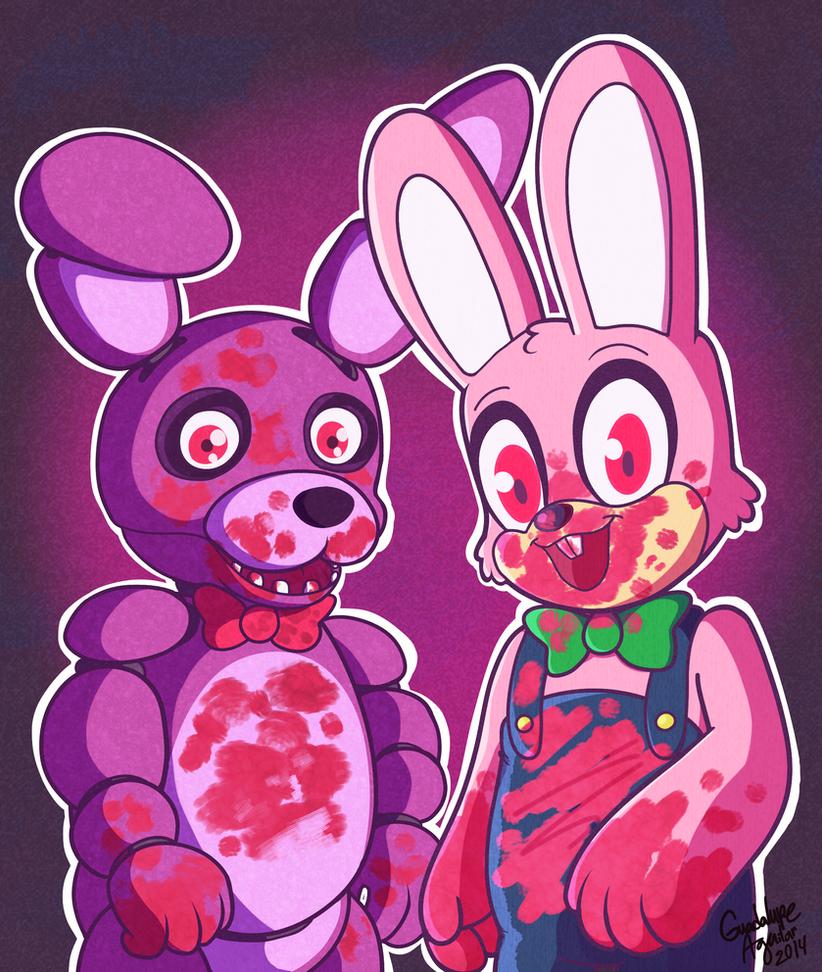 Robbie and Bonnie by ColorgasmFreak