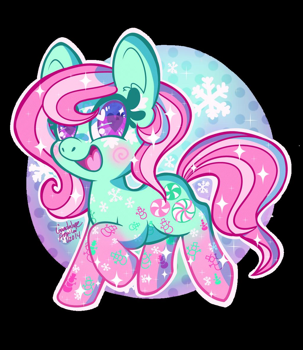 Winter Minty by ColorgasmFreak