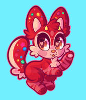 COM: Chibi Button Luumie by Dolcisprinkles