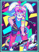 80's Retro Pastel by Dolcisprinkles