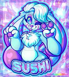 COM: Halfbody Badge - Sushi Pandit