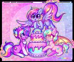 GA: Glittery Happy Birthday