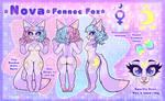 COM: Ref Sheet - Nova Fennec Fox