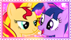 Stamp: SunsetSparkle by Dolcisprinkles