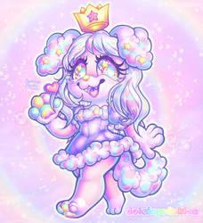 COM: Chibi Pastel Pup