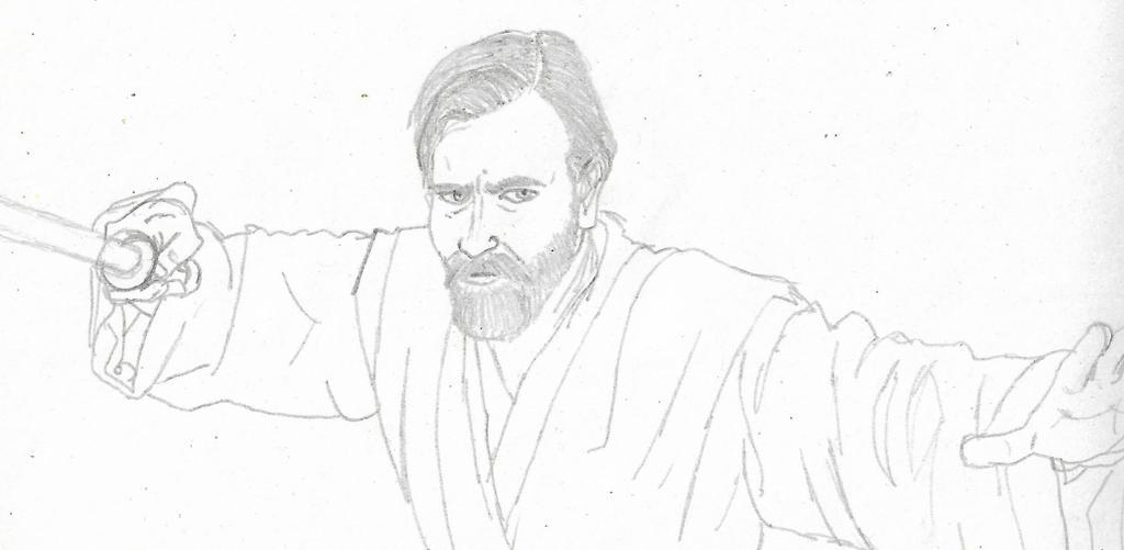 Obi-Wan by Blackaddergoesforth