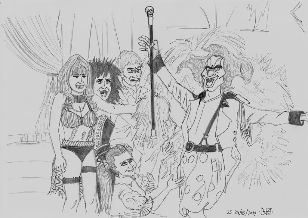 Nightmare Circus (HHN) by Blackaddergoesforth
