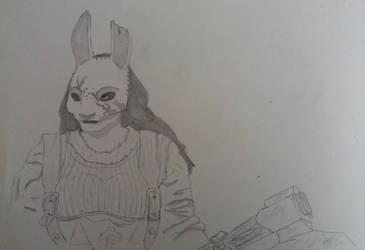 Huntress Sketch 2019-03 by Blackaddergoesforth