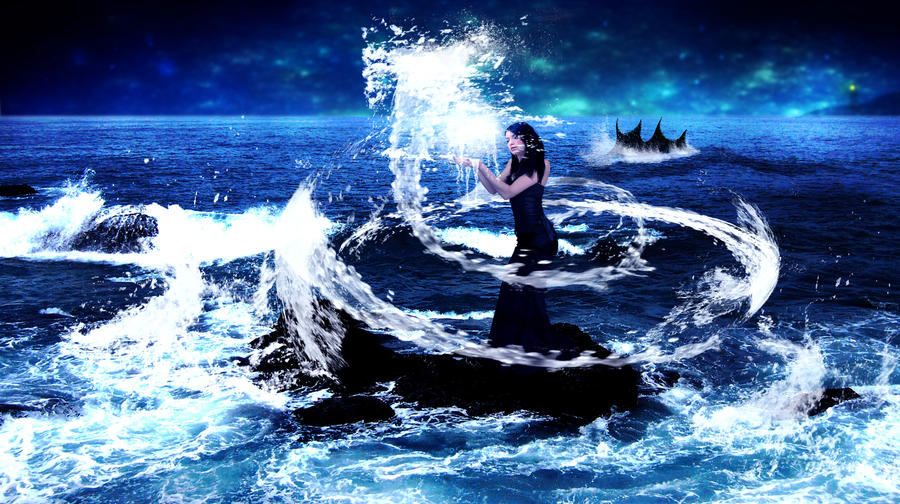 fantasy of water
