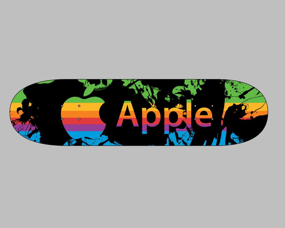 Apple Skateboard Design By Titnendo On Deviantart
