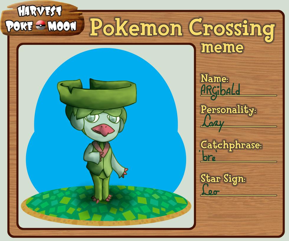 Hpm Animal Crossing Meme Argibald By Jwaterworks On Deviantart