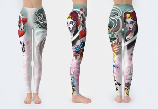 Wonderland Leggings
