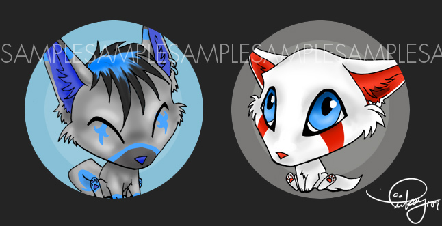 JamJams Button Commission by tiikay