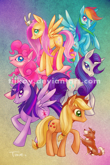 Friendship is Magic by tiikay