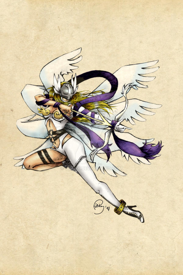AN Print - Angewomon by tiikay