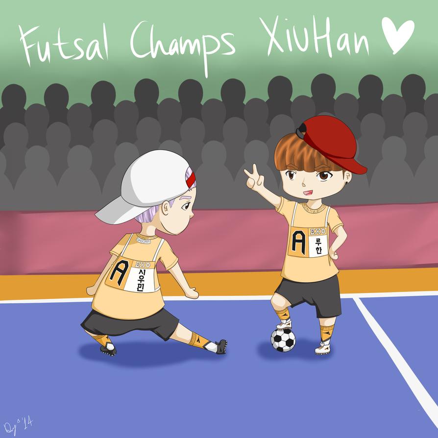 Futsal Champs XiuHan by DaniChingu