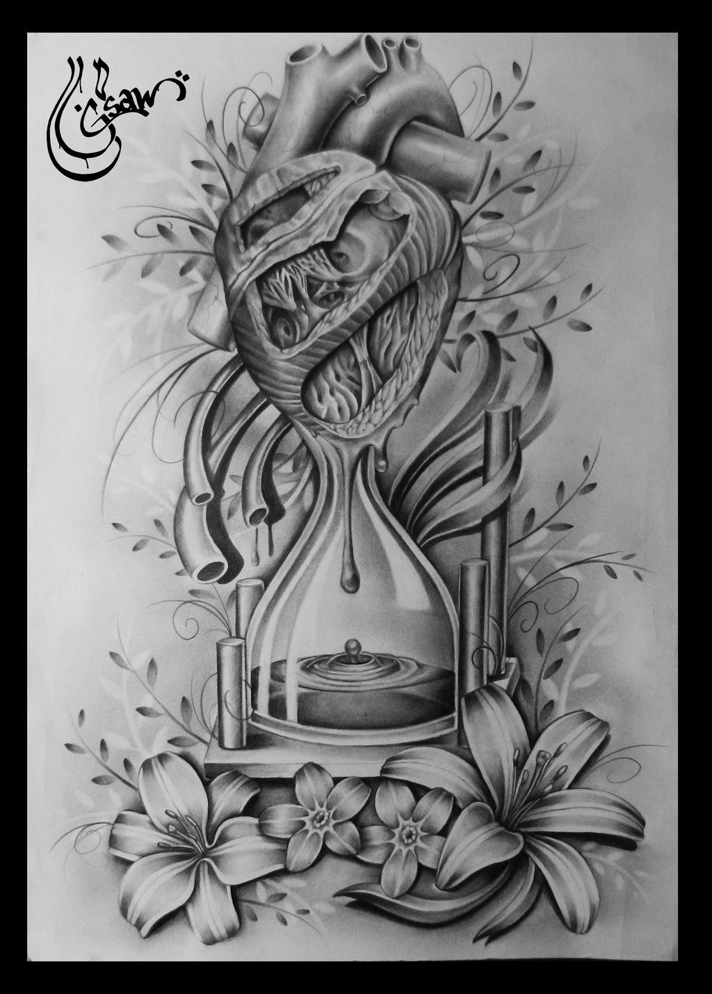 Grandfather Clock Sketch Gsaw's DeviantAr...