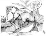 Snack Time: Castorocauda lutrasimilis