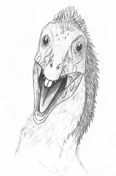 Dino-doodle: Incisivosaurus