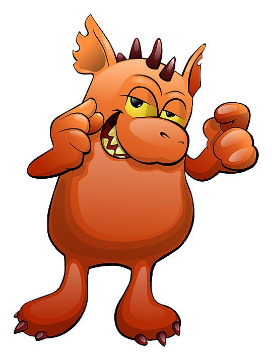 Cartoon Characters 2010 : Monster cartoon character by hugoo on deviantart