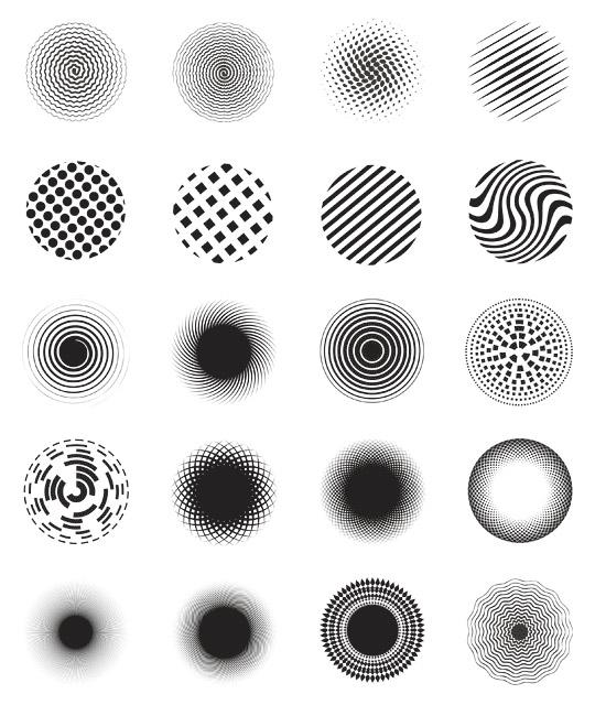 free circle vector shapes by hugoo13 on deviantart