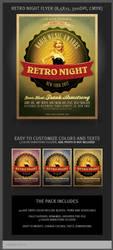 Retro Night Flyer Template by hugoo13