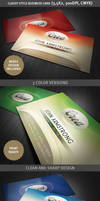 Classy style business card template by hugoo13
