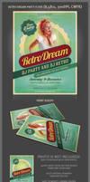 Retro Dream Party Flyer Template