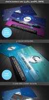 Creative Business Card Template by hugoo13
