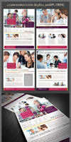 4 Clean Business Flyer Templates