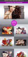 3D Wall Photo Mock-Ups 1