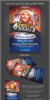 Fancy Night Party Flyer Template