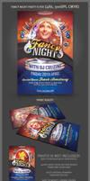 Fancy Night Party Flyer Template