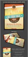 Hot Friday Night Flyer