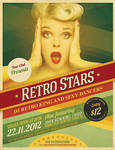 Cool Retro Party Flyer