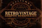 Retro/Vintage Graphic Designer Kit v.1