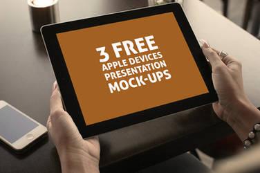 3 Free Presentation Mock-ups by hugoo13