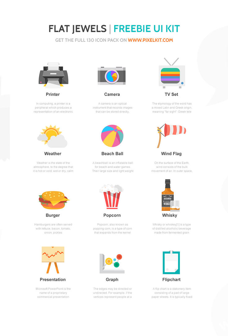 Free Icons Set from PixelKit by hugoo13