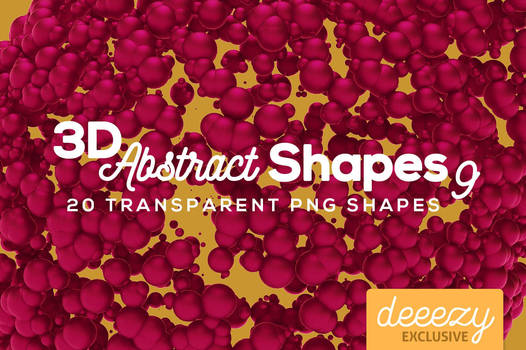 3D Abstract Shapes 9 - FREEBIE