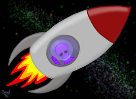 Spacetopus by kipplesnoof