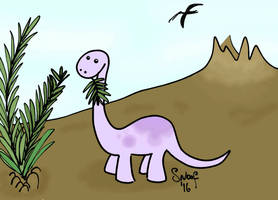 Sauropod by kipplesnoof