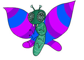 Bisexual Butterfly by kipplesnoof