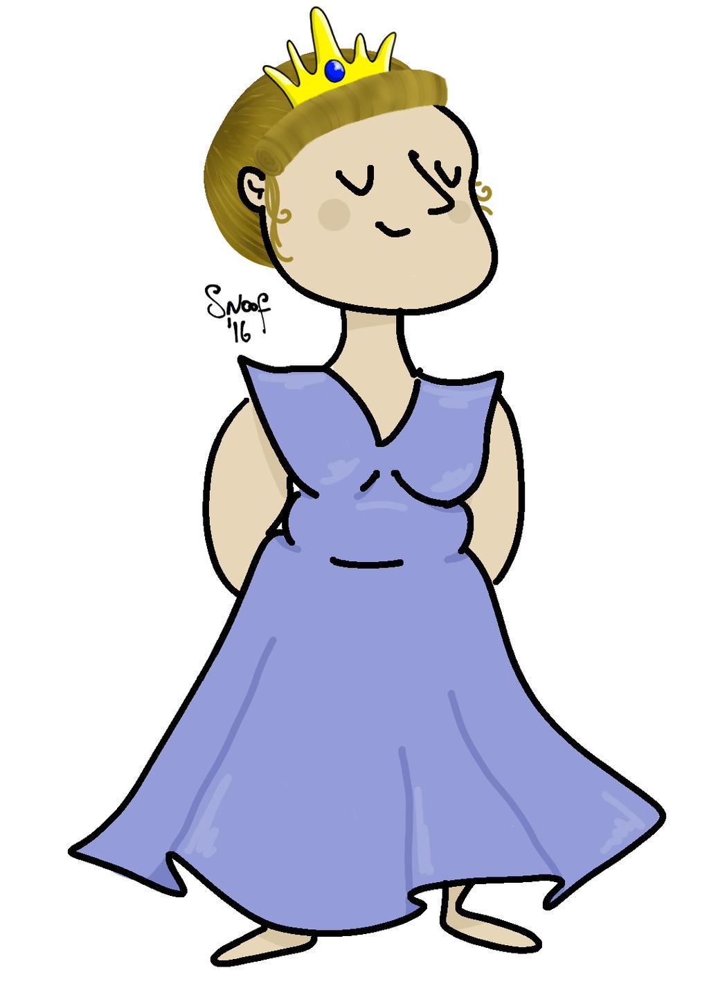 Smug Princess by kipplesnoof