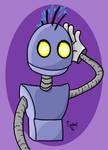 Robot Punk by kipplesnoof