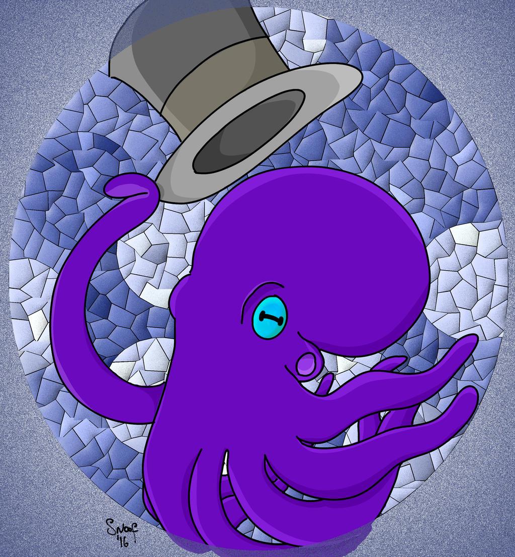 Fancy Octopus by kipplesnoof